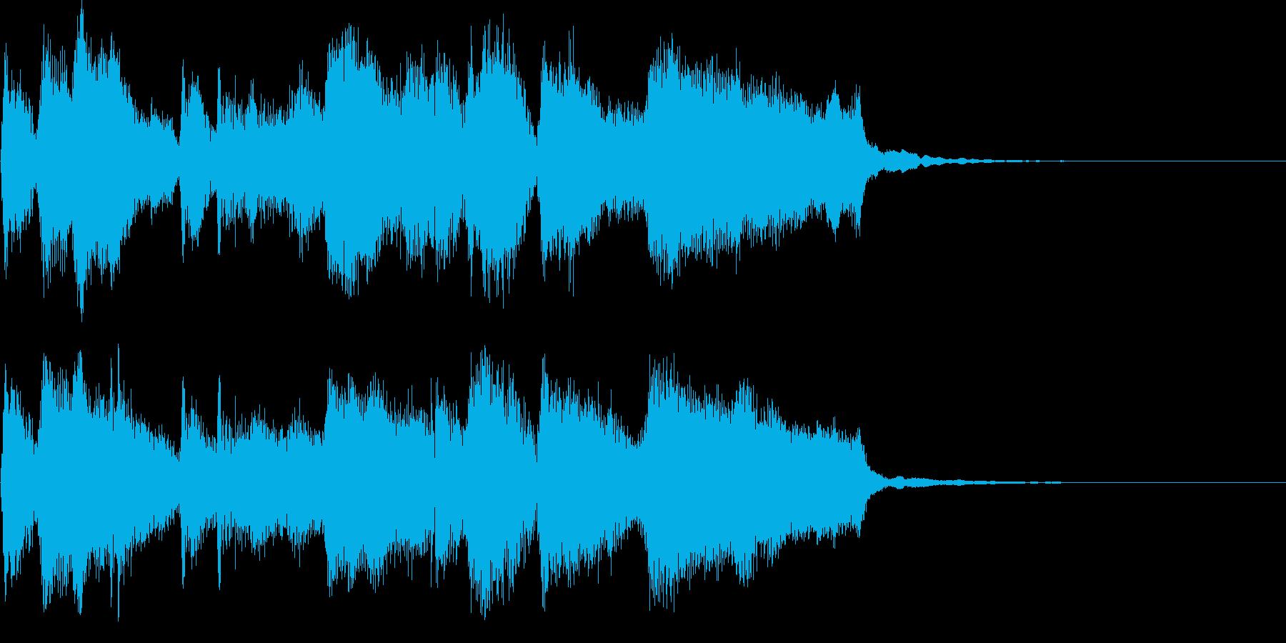 CM ロゴ プレゼン疾走感おもしろジャズの再生済みの波形