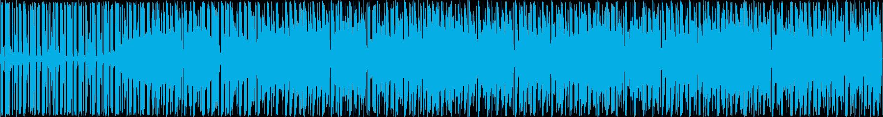 エレクトロダンスloopの再生済みの波形