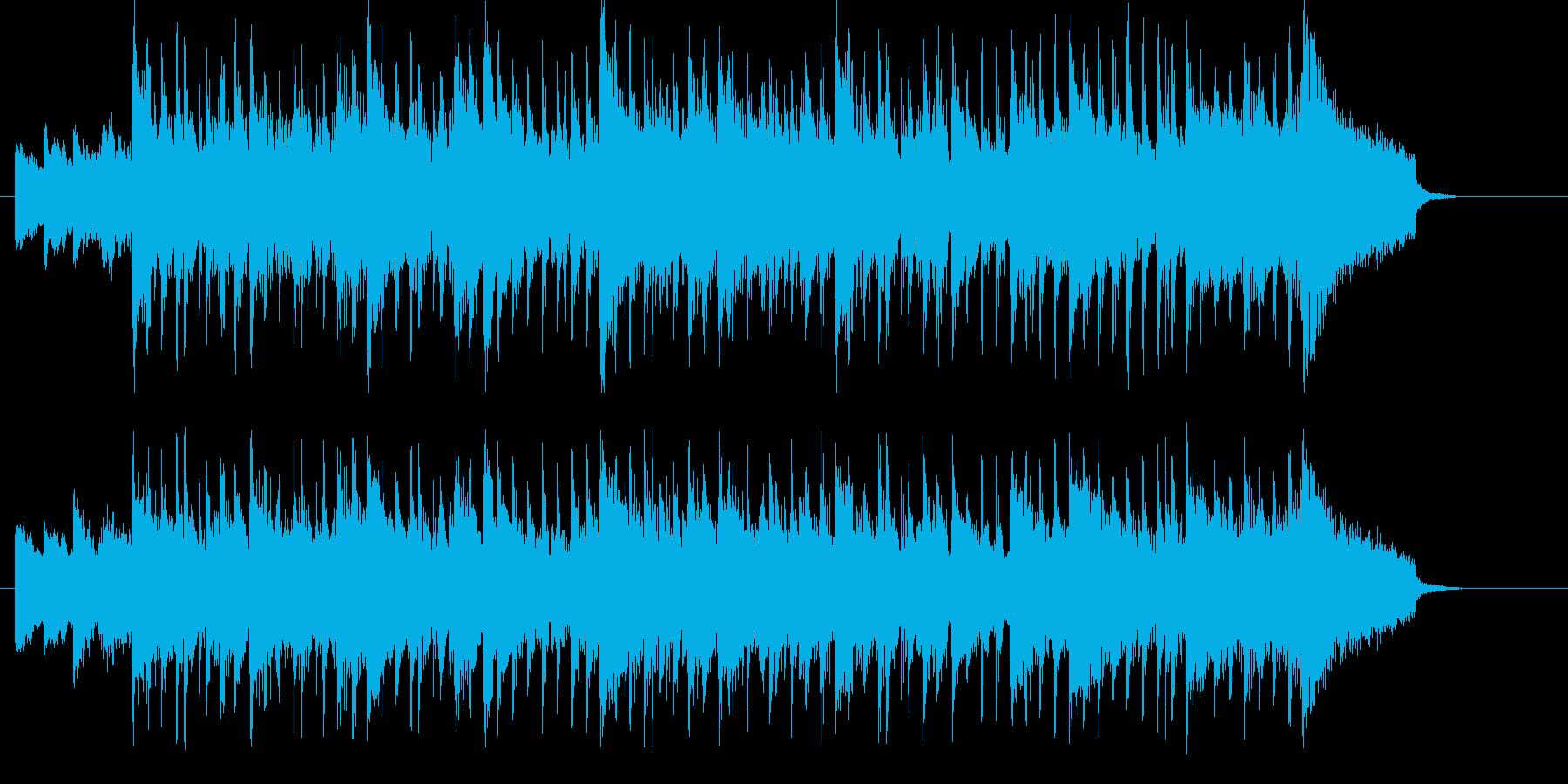爽やかでおしゃれなジャズのジングルの再生済みの波形