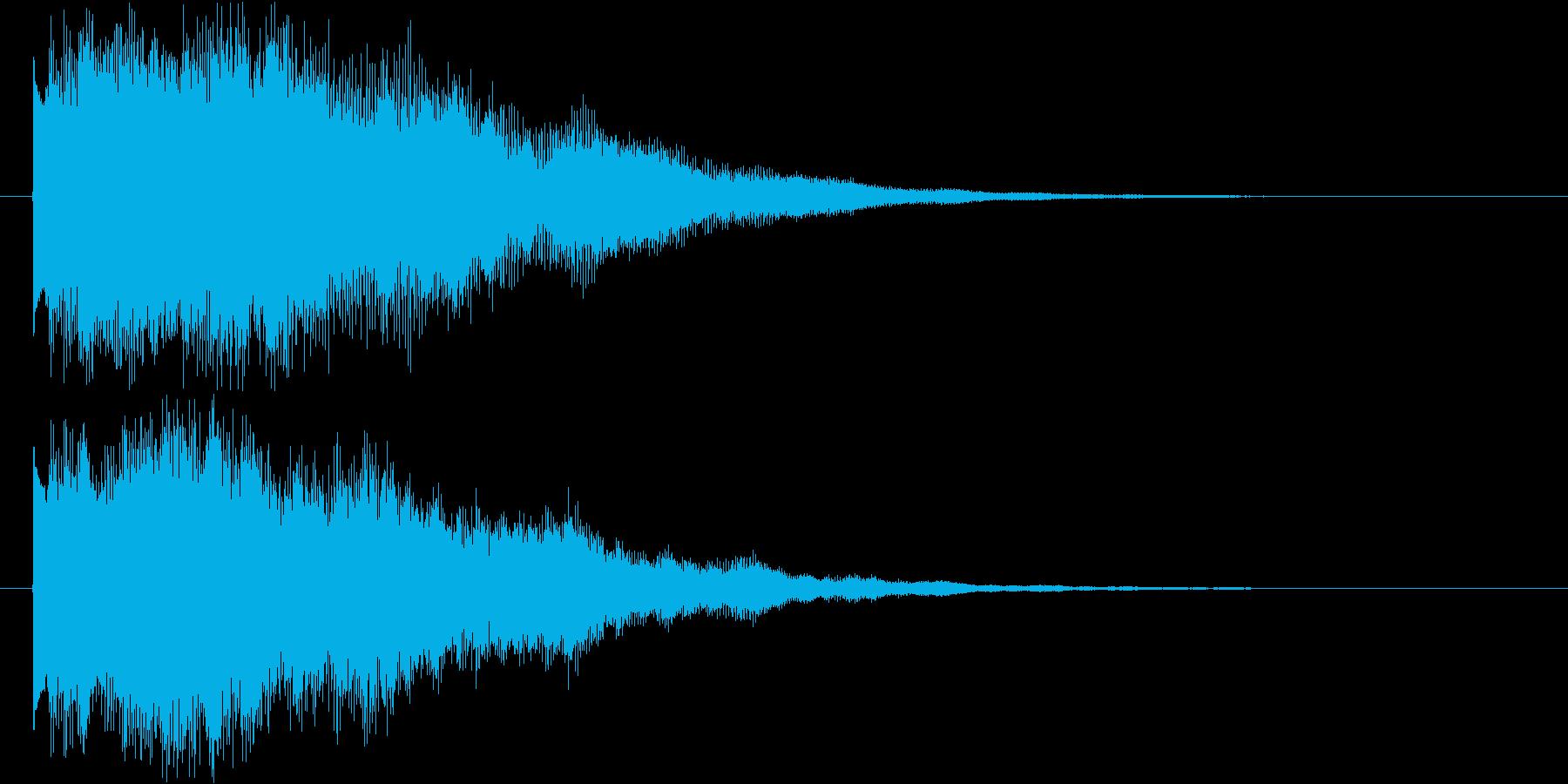 アンビエントなエレピ#1・サウンドロゴ等の再生済みの波形