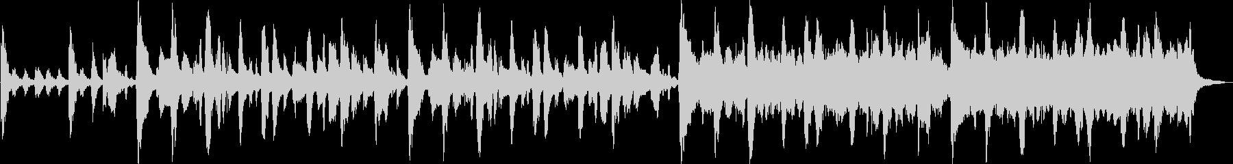 ヨーロッパ風アコーディオンワルツの未再生の波形
