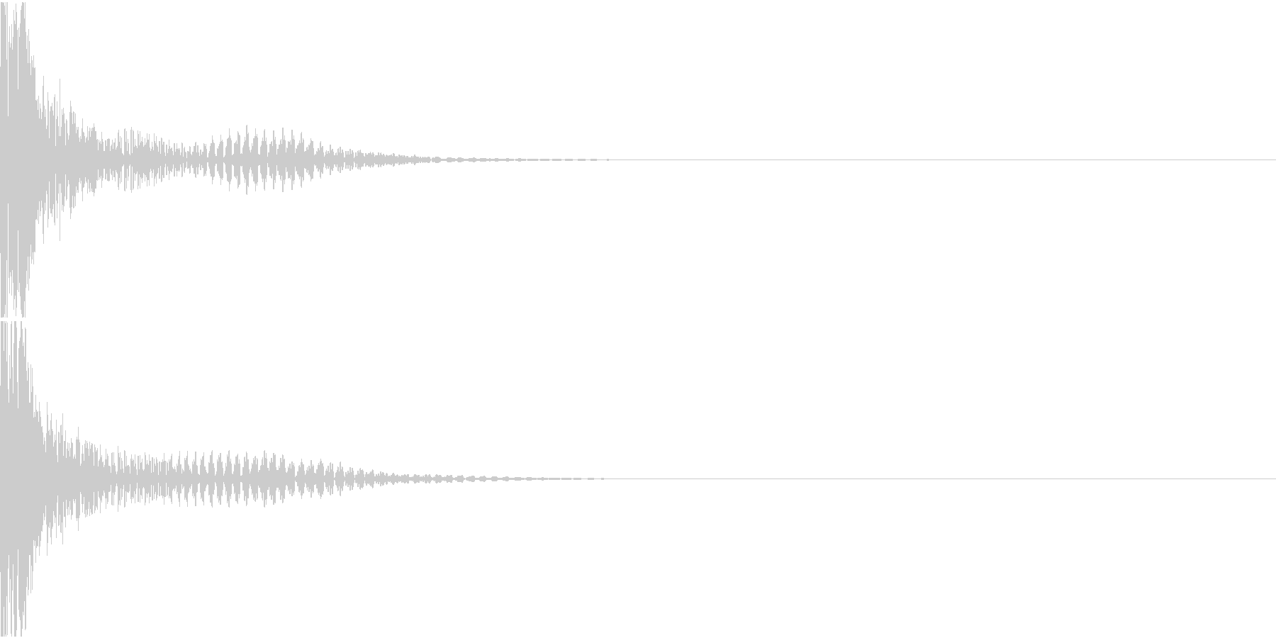 BASIC BEAM RIFLE 銃撃音の未再生の波形