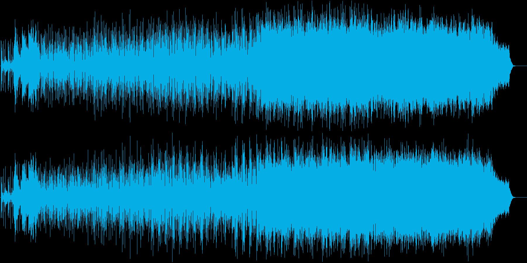 ノスタルジックで幻想的なゲーム音楽の再生済みの波形