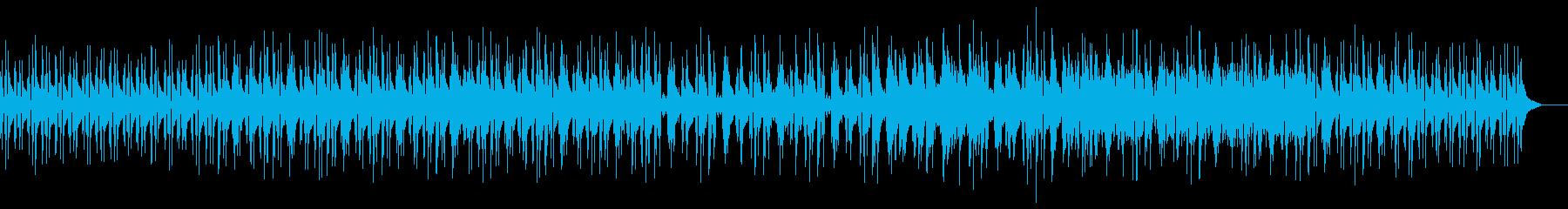 企業系VPギターとエレクトロの楽曲の再生済みの波形