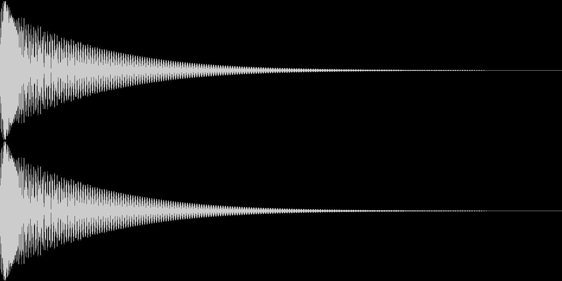 Cap フタ・栓を開ける音 6の未再生の波形