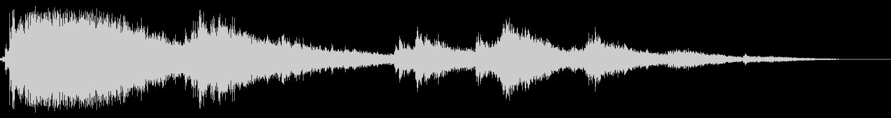 ウインドチャイム4の未再生の波形