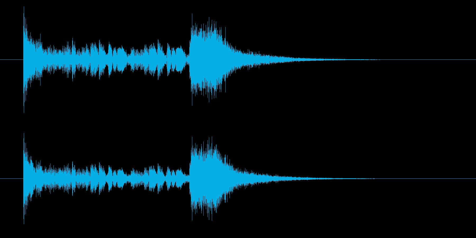 ドン・・ダダン!(重みのある出題音)の再生済みの波形