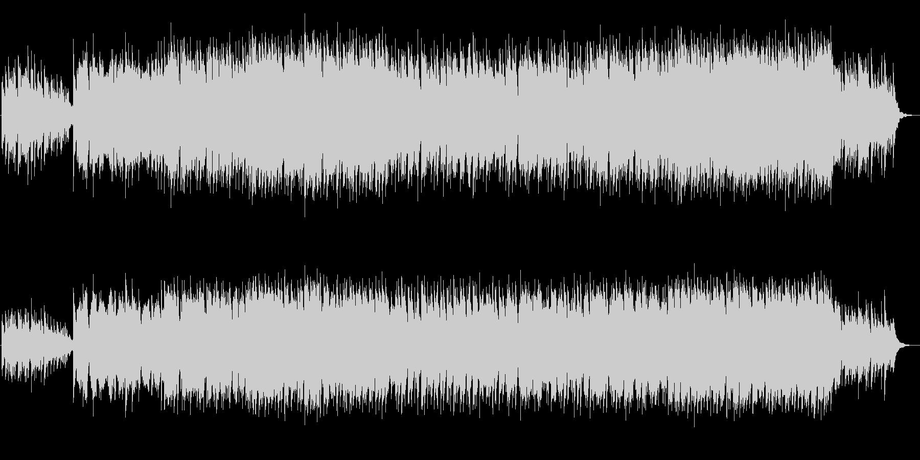 美しく綺麗なシンセサイザーサウンドの未再生の波形