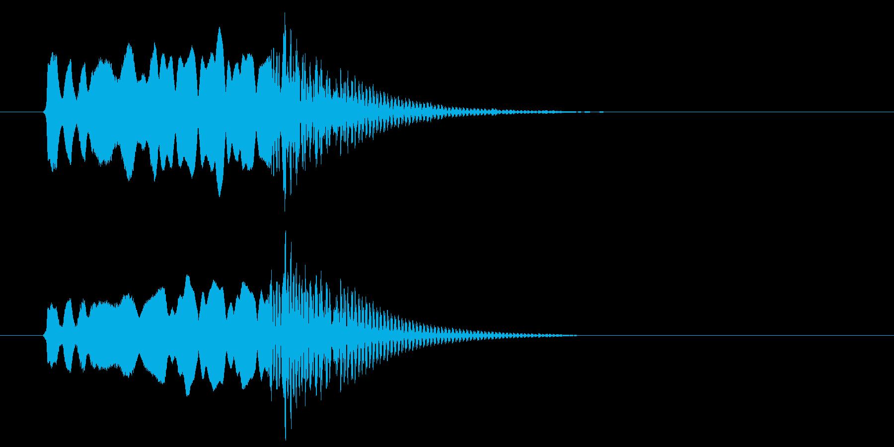 和風、尺八タラララ~ドドン!の再生済みの波形