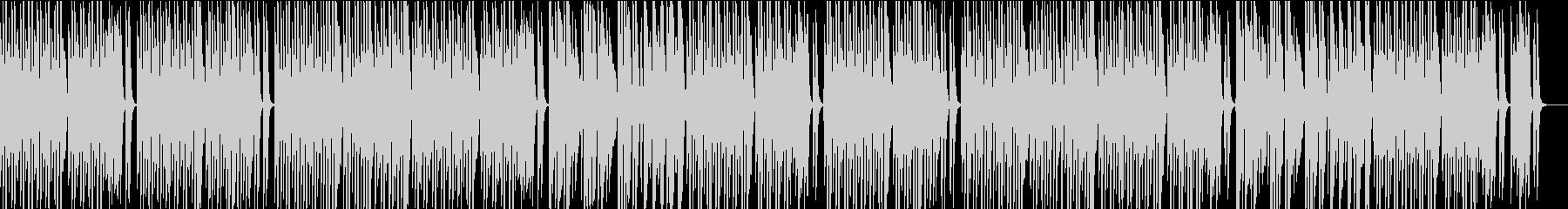 メロディの少ない可愛いピアノポップスの未再生の波形