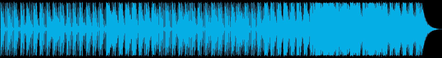 優しいエレクトロニカの再生済みの波形