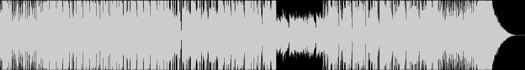 EDM TRAP DUBSTEP ピアノの未再生の波形