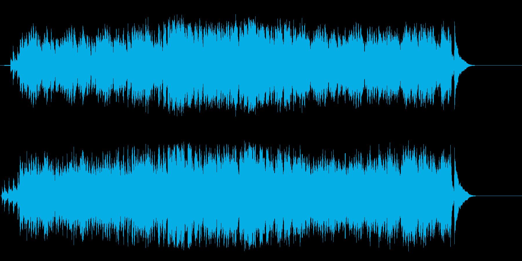 白銀のアルプスの爽やかなワールド音楽の再生済みの波形
