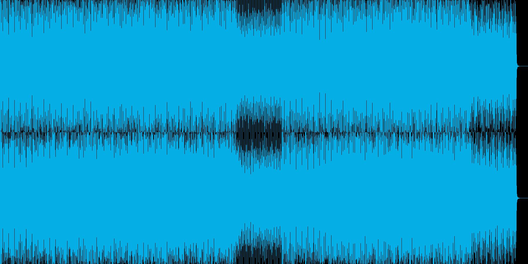 EDMクラブ系ダンスミュージック-56の再生済みの波形