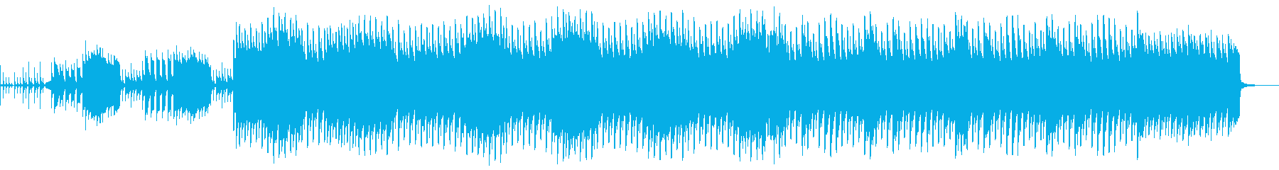 CM用 アナログシンセ 印象的でハードの再生済みの波形