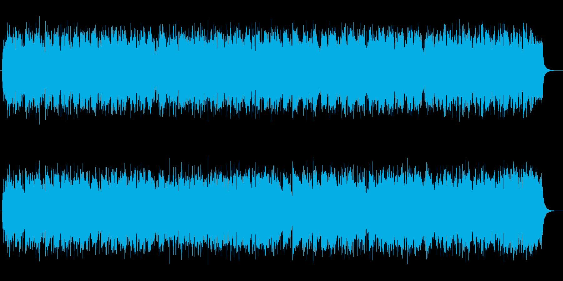 メランコリックな懐かしいゆっくりした曲の再生済みの波形