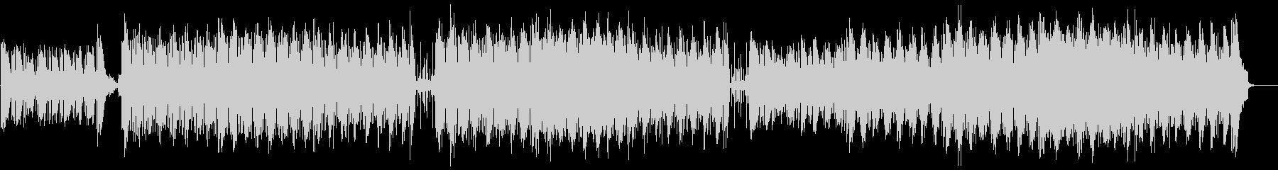 ピアノメインの切ない曲の未再生の波形
