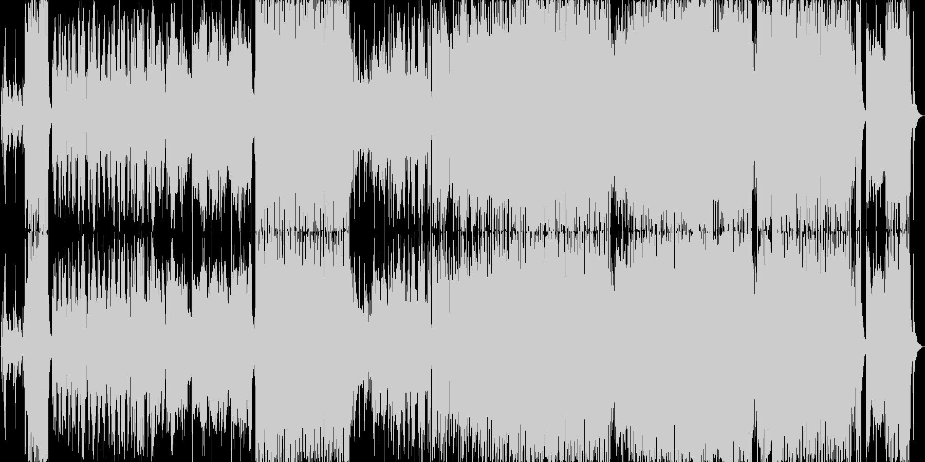 テーマ風和風ポップロックの未再生の波形