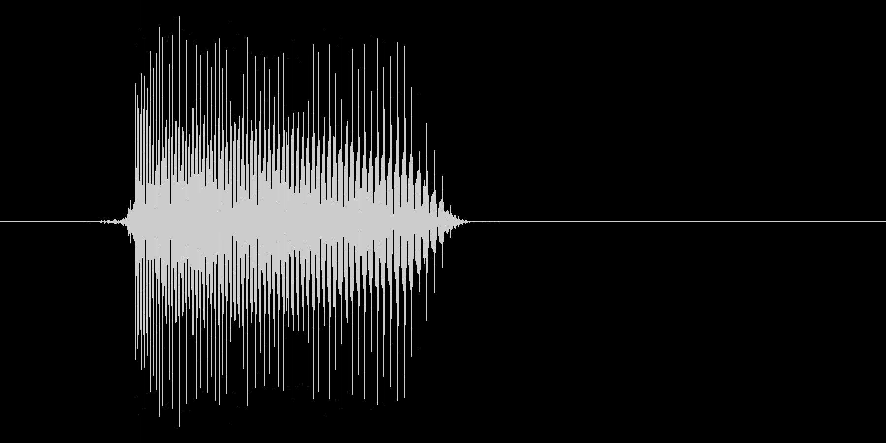 ゲーム(ファミコン風)レーザー音_030の未再生の波形