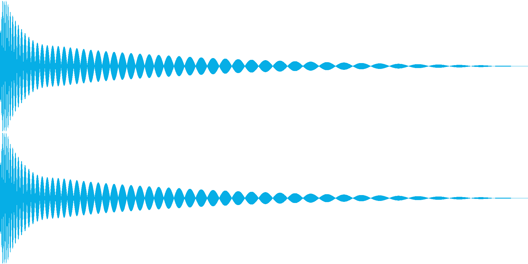 DTM Kick 16 オリジナル音源の再生済みの波形