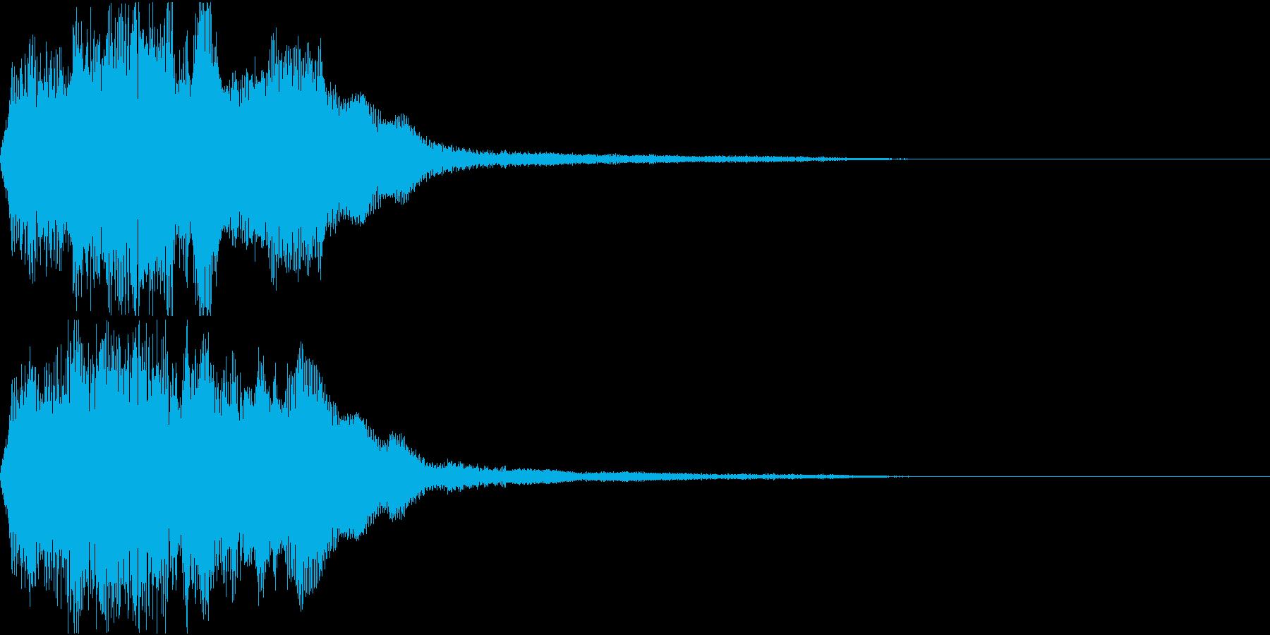 ラッパ ファンファーレ 定番 7 早いの再生済みの波形