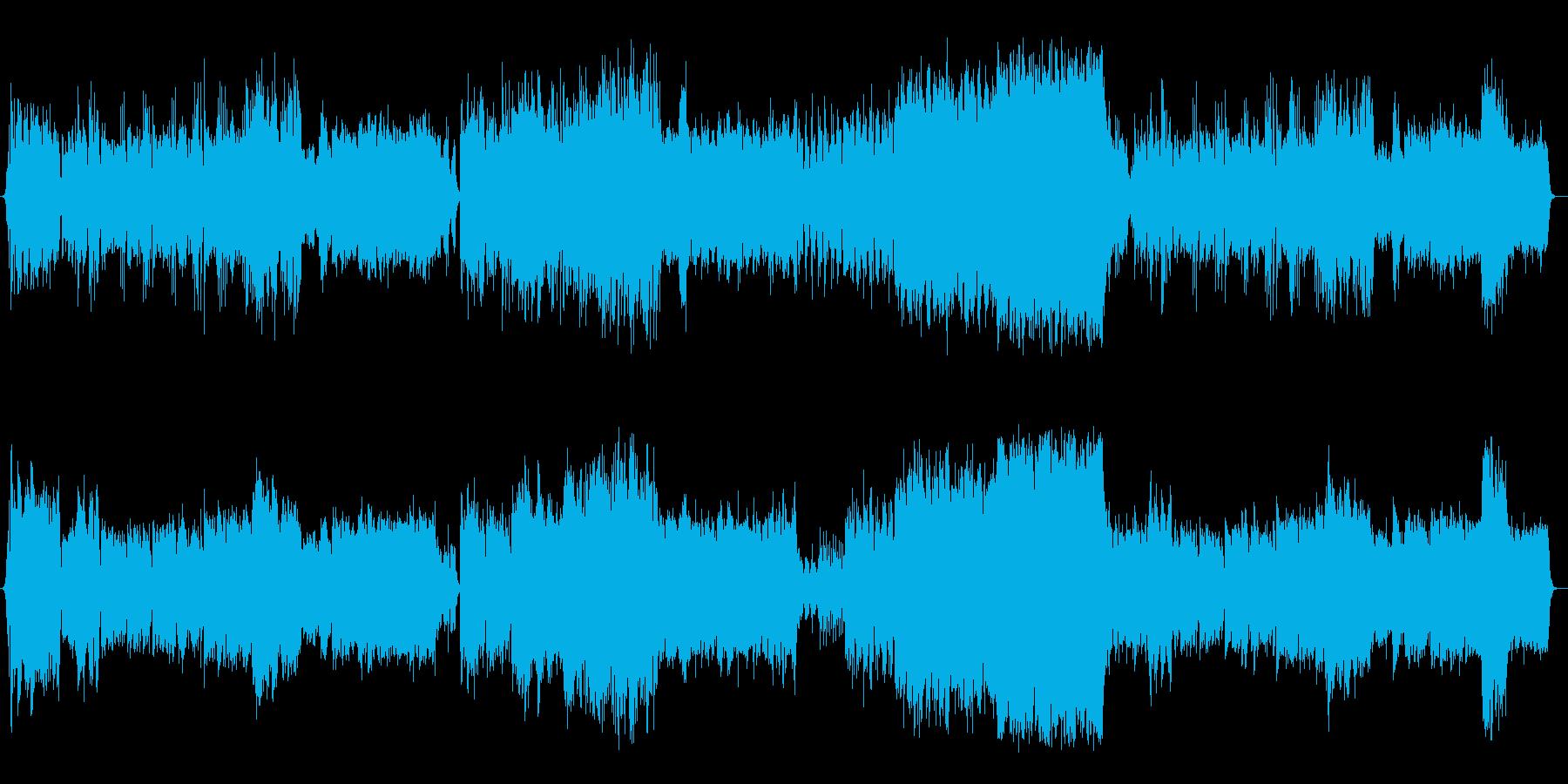 中国4千年の歴史風サウンドの再生済みの波形