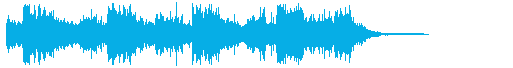 ラテン風イージーリスニングの再生済みの波形