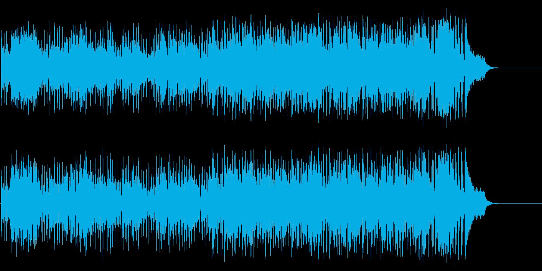 春の陽射しのフュージョン(イントロ~…)の再生済みの波形