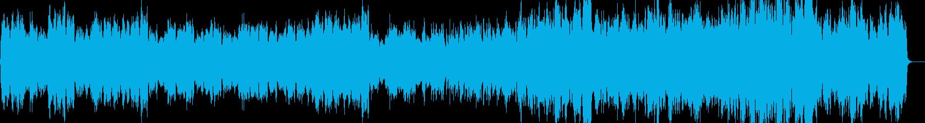 ストリングスによる切ないクラシックの再生済みの波形