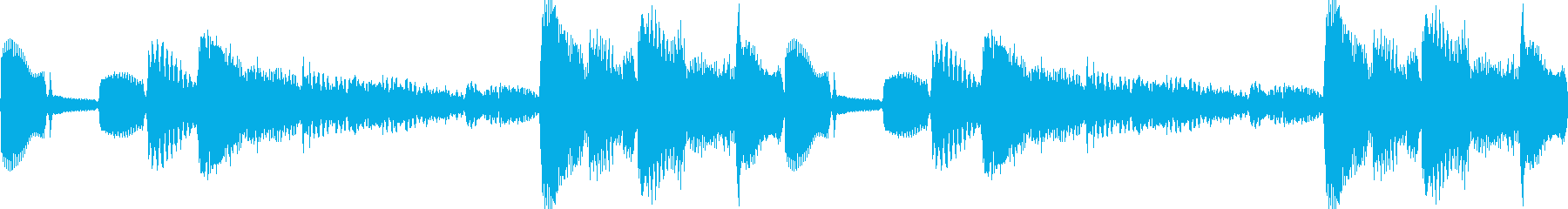 k013 アラーム音(ループ仕様)の再生済みの波形