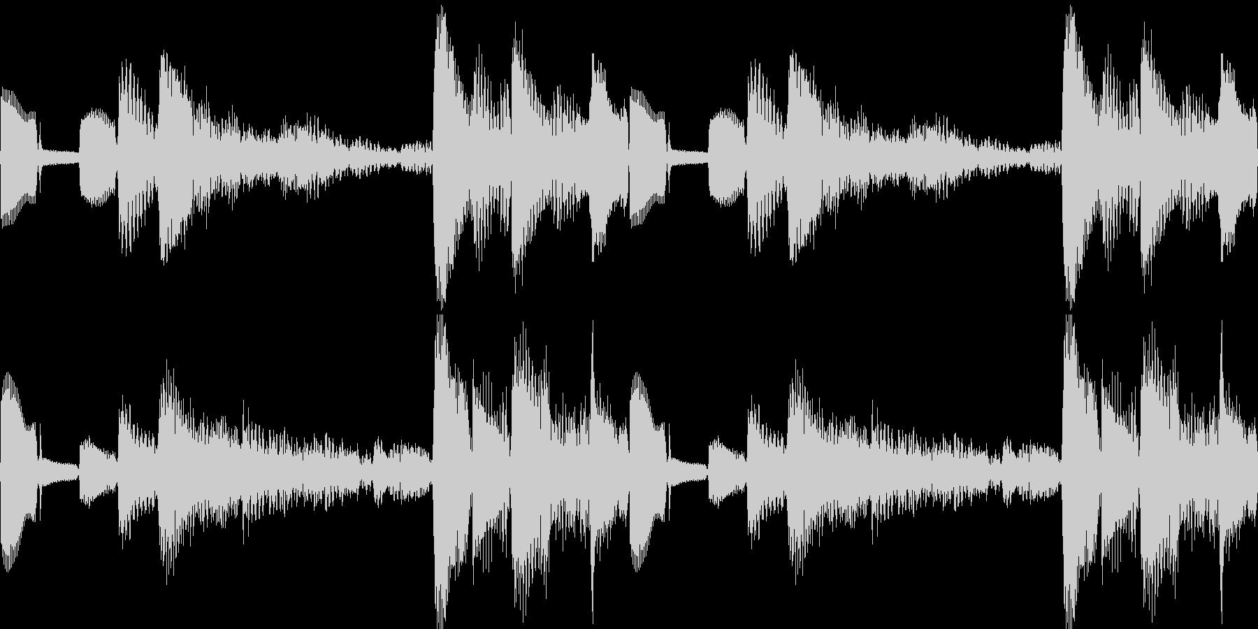 k013 アラーム音(ループ仕様)の未再生の波形