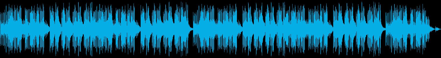 キュートでほのぼのした楽曲A:編集1の再生済みの波形