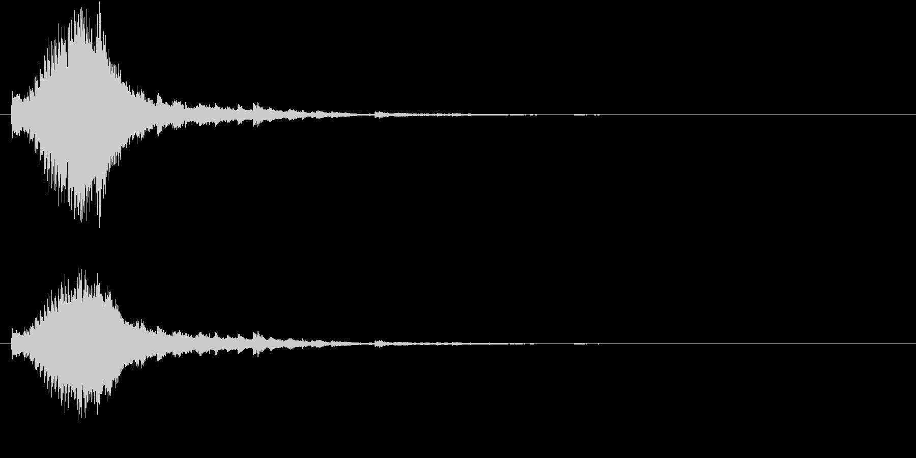 キラキラ  星  グロッケンの未再生の波形