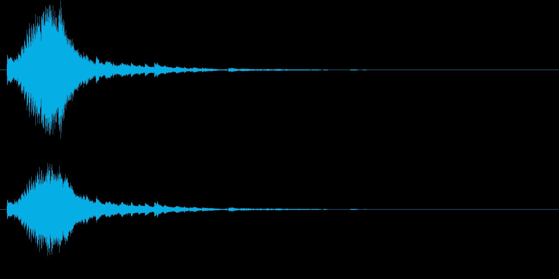 キラキラ  星  グロッケンの再生済みの波形