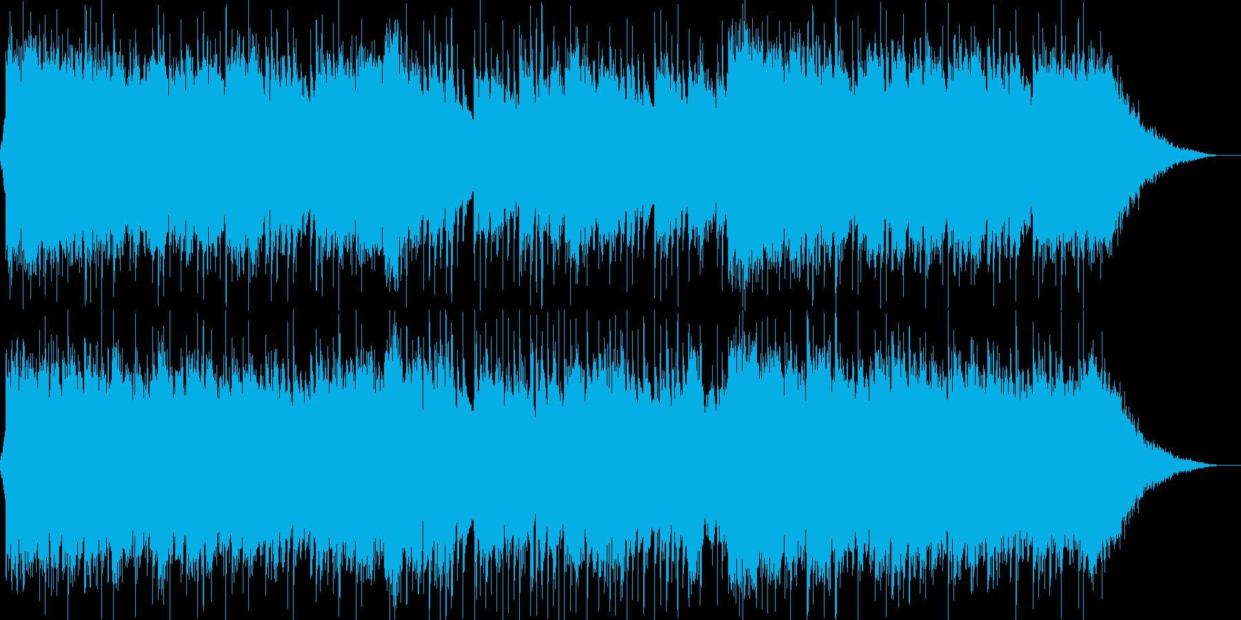 琴、尺八、三味線、切なく壮大な和風3-2の再生済みの波形