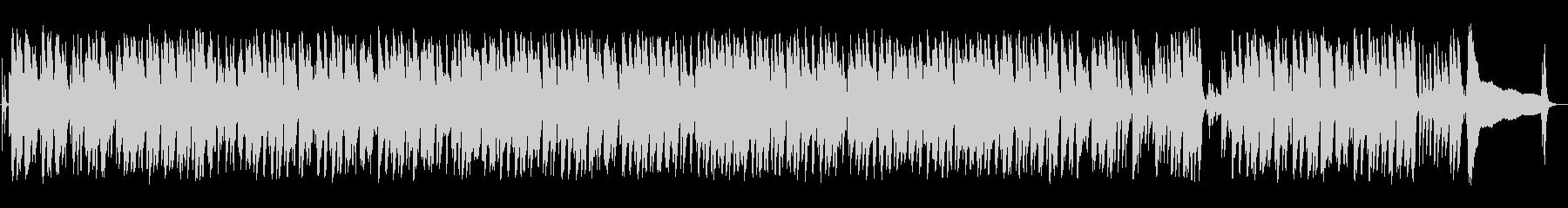 ウクレレの音が軽快なハワイアン音楽の未再生の波形