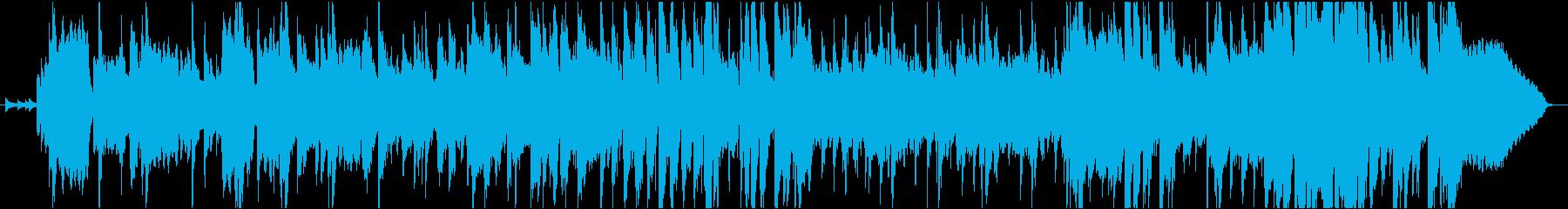ジャズバーのような大人のジャズの再生済みの波形