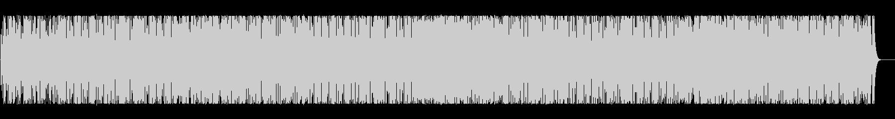 リズミカルでコミカルなBGMの未再生の波形