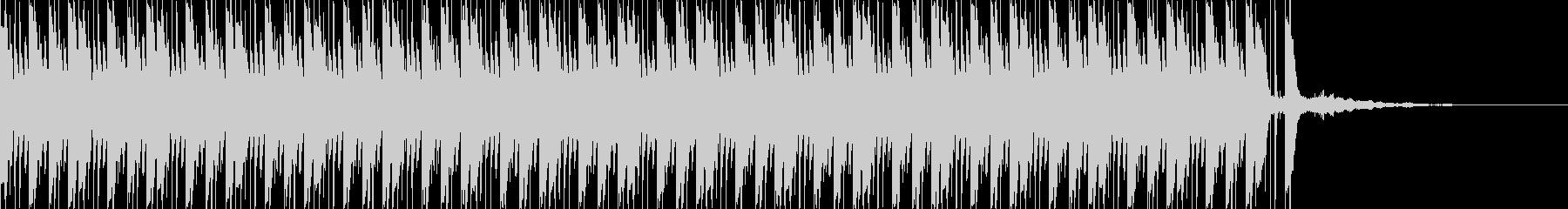 エレクトロビートとノイズの未再生の波形