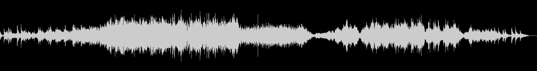 弦楽器メインのバラードの未再生の波形