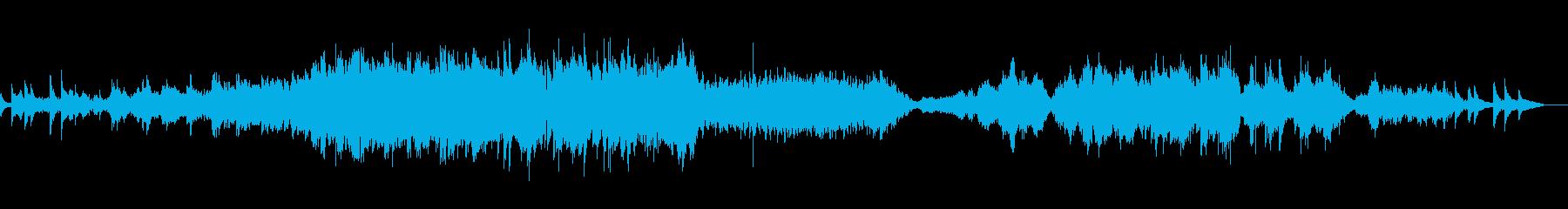 弦楽器メインのバラードの再生済みの波形