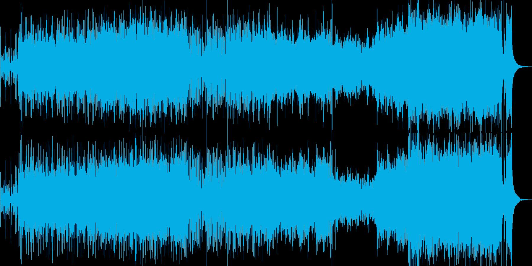 和風大河時代劇BGMオーケストラの再生済みの波形