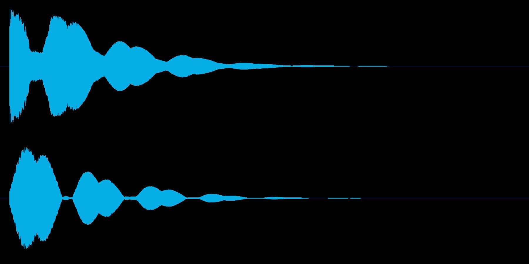 トゥオーンの再生済みの波形