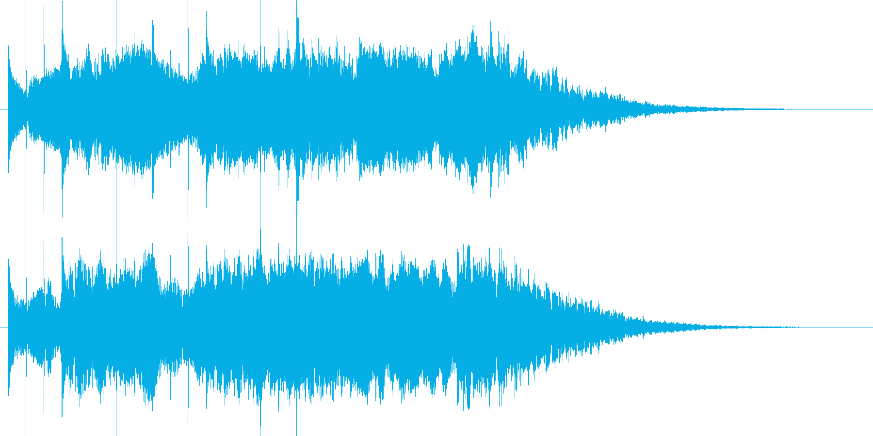 コーナータイトル_ふんわりアンビエント1の再生済みの波形