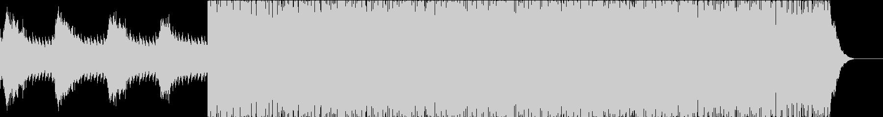 【ゲーム・TV】シリアスシーンBGMの未再生の波形
