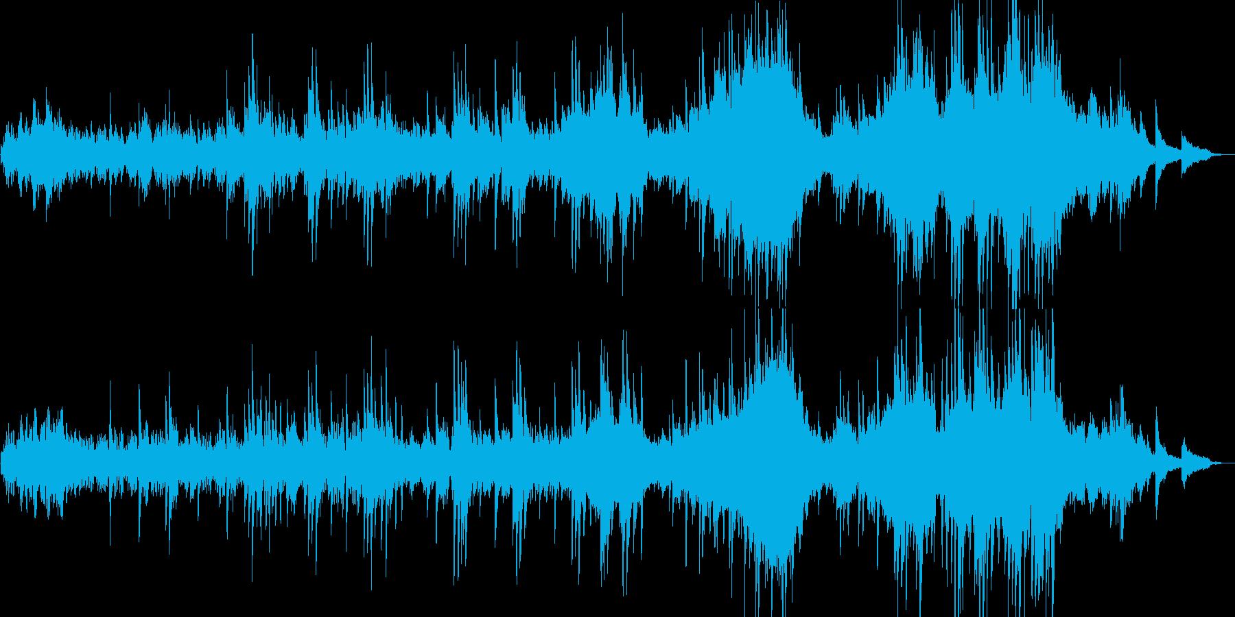 【ピアノソロ演奏】アヴェ・マリアの再生済みの波形