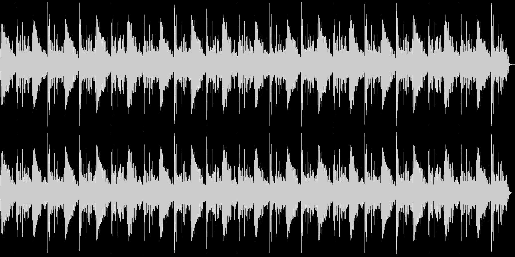 ドン、バーン(爆発)+カウントの未再生の波形