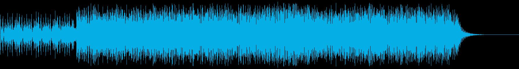 緊張 スリル スピード 追跡 映画 都会の再生済みの波形