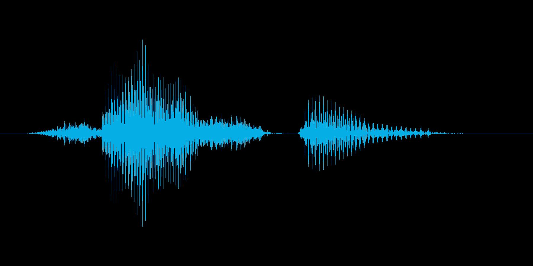 サウスポーの再生済みの波形