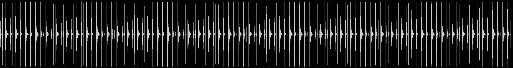 トチトン_柱時計__1分の未再生の波形